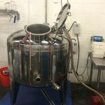 Our new 500L kettle from Still Dragon North America!
